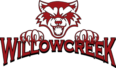 Picture of Willowcreek Middle School mascot - the Wolverines